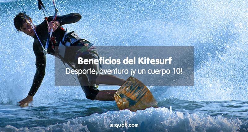 kite, kitesurf, deporte, estar en forma, beneficios, cuerpo 10, operación biquini, deportes acuáticos, mar, olas, playa, vacaciones, verano, viento, seguro de kitesurf, wiquot, gestor inteligente de finanzas personales,