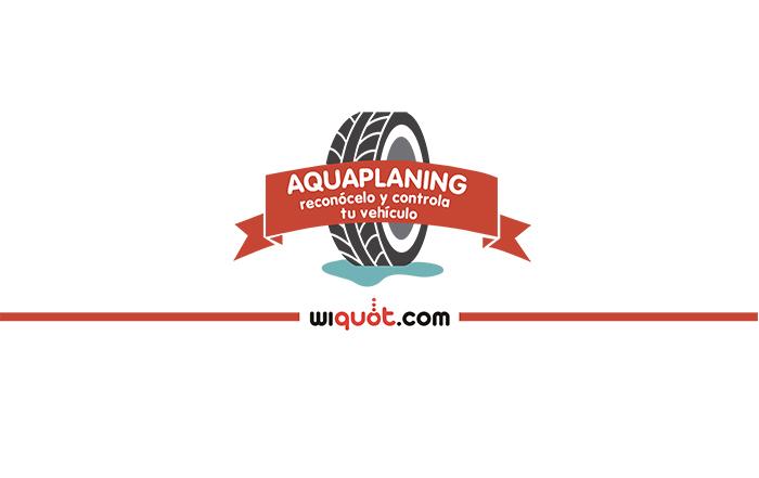 wiquot, infografía, miércoles visuales, aquaplaning, lluvia, control, neumáticos, vehículo