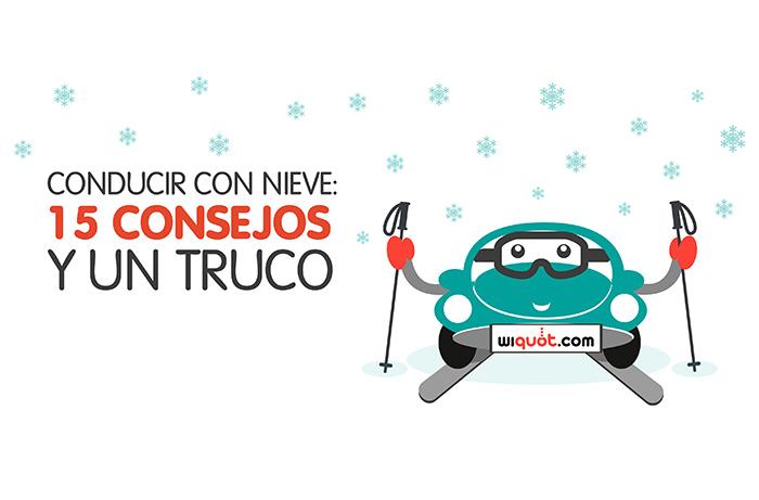 Wiquot, infografía, miércoles visuales, nieve, conducir con nieve, placas de hielo, carretera, seguridad
