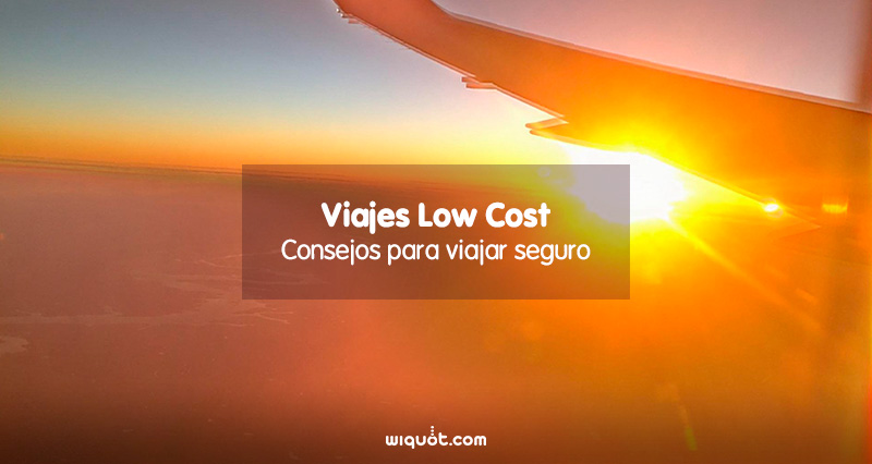 viajes, low cost, seguro de viaje, wiquot