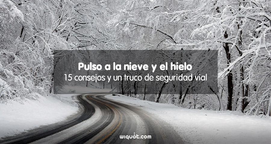 conducir con nieve y hielo