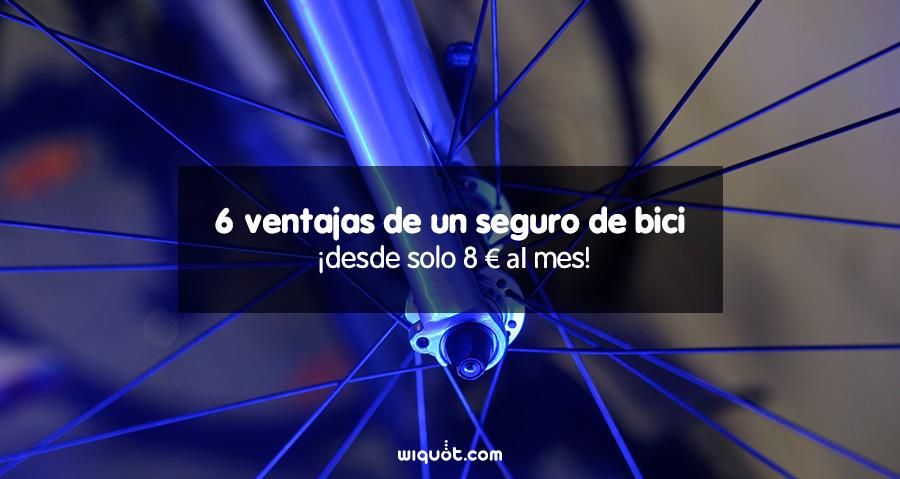 bicicleta, seguro de bicicleta, coberturas, ventajas