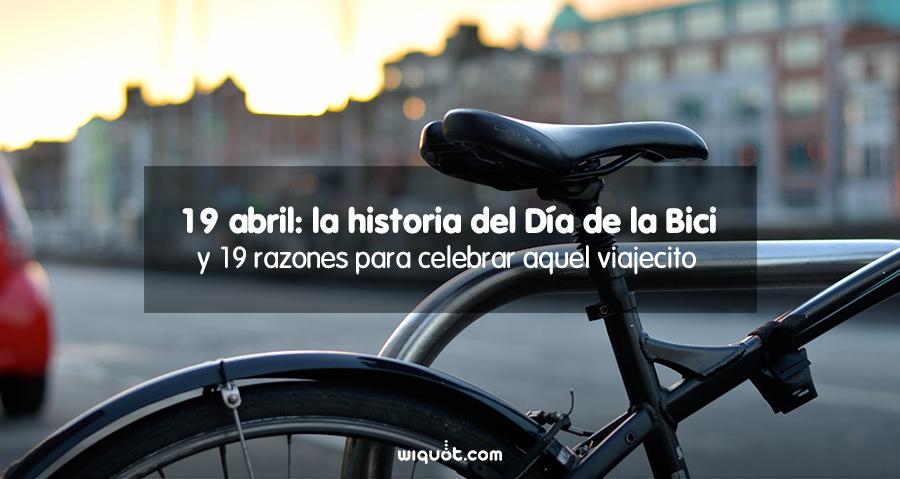 Día Mundial de la Bicicleta, bici, bicicleta, seguro de bicicleta,