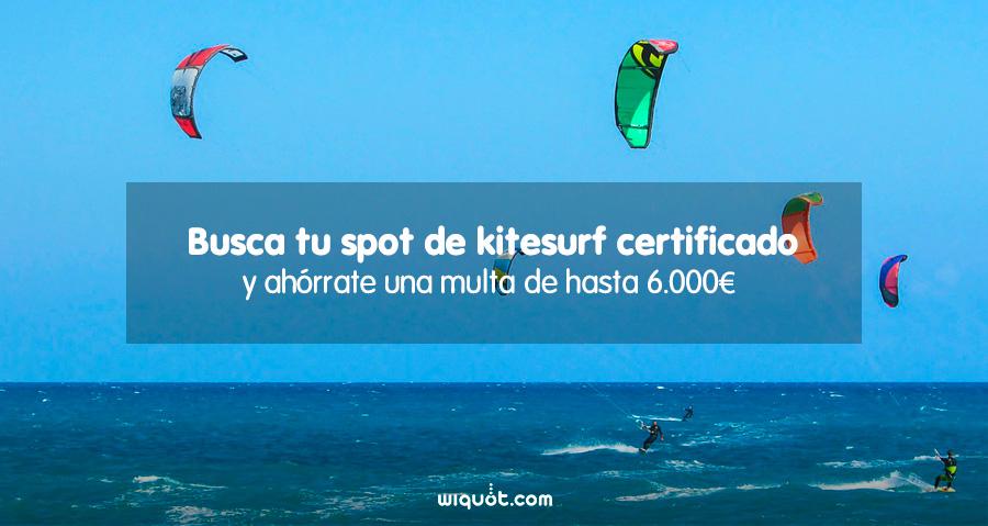 kitesurf, spots de kitesurf, seguro de kitesurf,