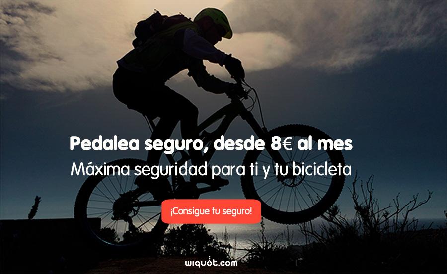 seguro de bicicleta, bici, bicicleta