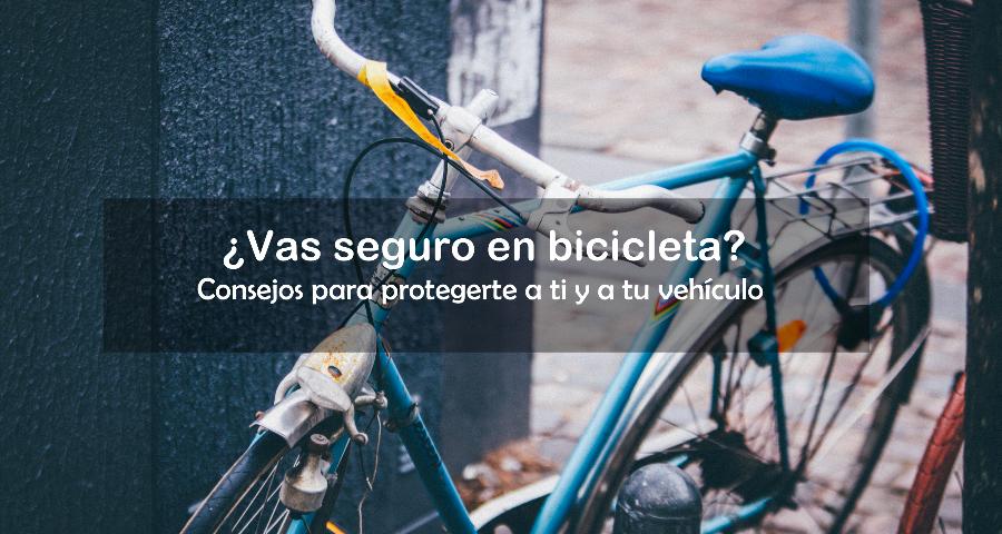 Ir seguro en bicicleta: evitar y prevenir riesgos